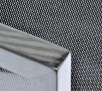 C 011 - Pièce unique Fauteuil en carbone tressé pour la structure, plain weave 3k...