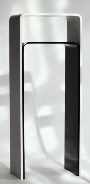 Stèle - Épreuve d'artiste Stèle en corian...