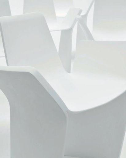 Taormina - Pièces uniques Série de huit fauteuils...