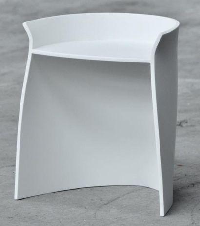 Carino - Pièce unique Chaise en corian blanc....