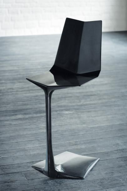 C 09 - Prototype Chaise en fibre de carbone...