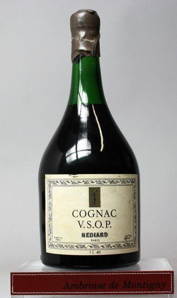 1 FLACON 1 L COGNAC HEDIARD V.S.O.P. Etiquette...
