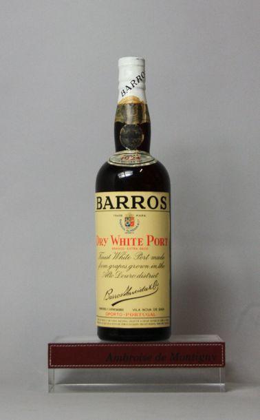 1 BOUTEILLE PORTO BARROS Dry White Port «CUVEE»...