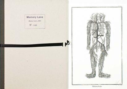 COLLECTIF Memory Lane, 2001 Divers sur papier....