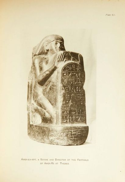 Catalogue of an Exhibition of Ancient Egyptian...