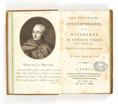 RÉTIF DE LA BRETONNE (Nicolas-Edme)