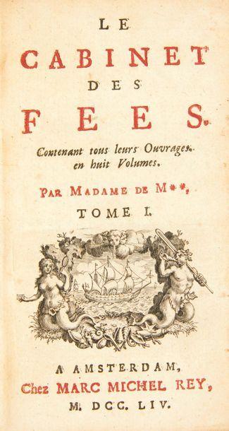 [CONTES DE FÉES]. Le Cabinet des fées. Contenant...