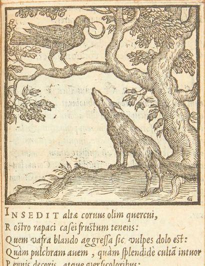 FAERNO (Gabriele) Centum fabulae ex antiquis auctoribus delectae, et a Gabriele Faerno...