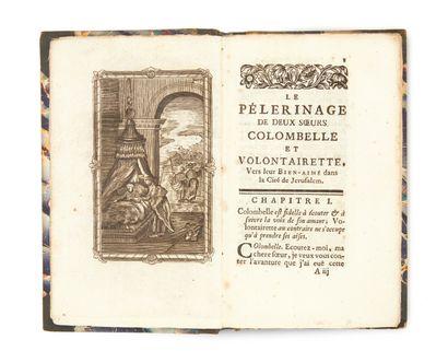 BOLSWERT (Boetius Adams) . Le Pelerinage de deux Soeurs Colombelle et Volontairette...