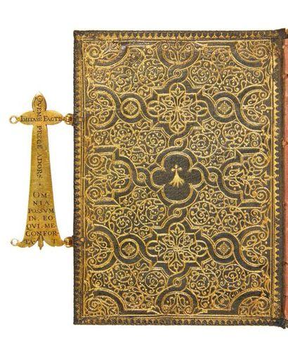 [MANUSCRIT]. Livre de prières d'Andrée de Vivonne, duchesse de La Rochefoucauld....