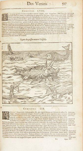 PARÉ (Ambroise) Les OEuvres. Dixiesme edition, reveue et corrigée en plusieurs endroits,...