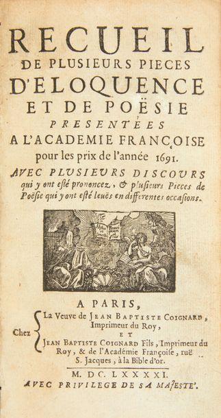 [PERRAULT (Charles)] La Marquise de Salusses, ou la Patience de Grisélidis. [In:...
