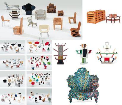 VITRA MUSEUM EDITIONS Collection de 140 miniatures...
