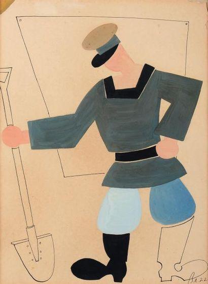VLADIMIR V. LEBEDEV (1891-1967)