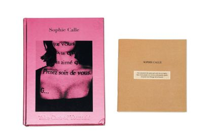 SOPHIE CALLE (NÉE EN 1953)