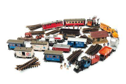 Locomotive de train L.G.B, Lehmann.