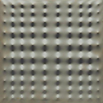 ENRICO CASTELLANI (NÉ EN 1930) Sans titre, 1968 Multiple en plastique thermoformé....
