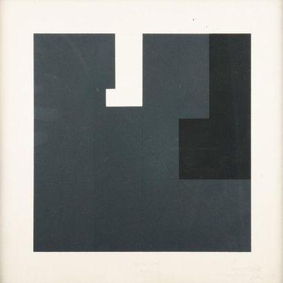 GIANFRANCO PARDI (NÉ EN 1933) Sans titre, 1979 Sérigraphie en couleurs. Signée et...
