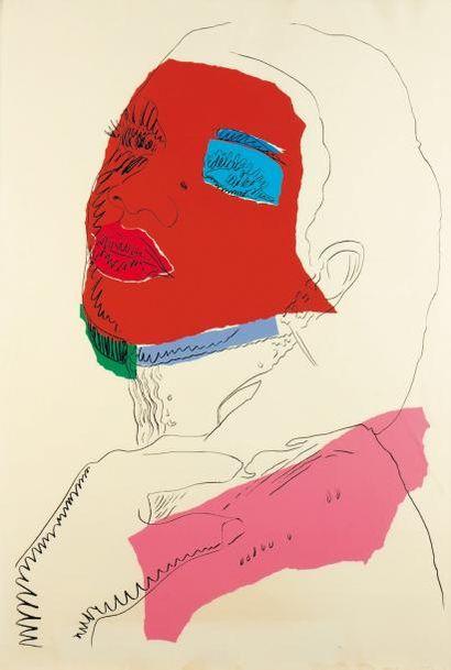 ANDY WARHOL (1928-1987) Ladies & Gentleman, 1975 Sérigraphie en couleurs. Signée...