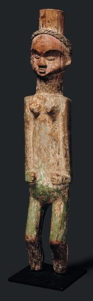 Statue Mitsogho, Gabon - Bois. Cette figure...
