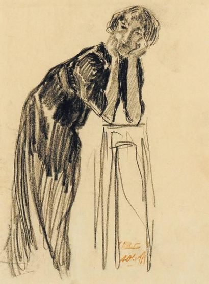 AUGUSTE OLEFFE (1867-1931)