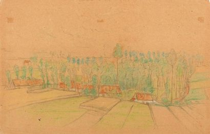 WILLIAM DEGOUVE DE NUNCQUES (1867-1935)