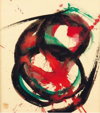 KAZUO SHIRAGA (1924-2008)