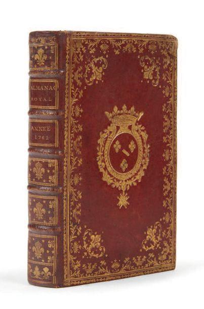 Almanach royal, année 1762. Paris: Le Breton,...