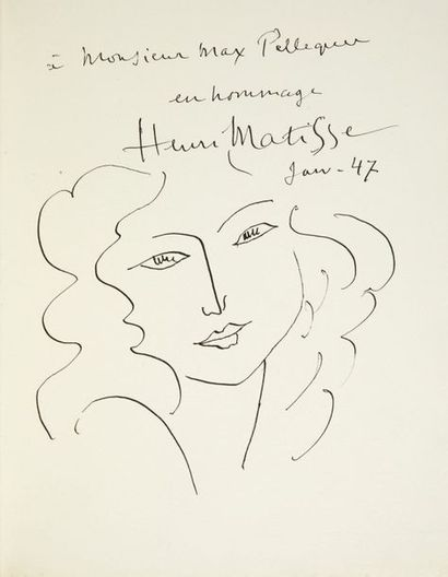 [MATISSE (Henri)] - ALCAFORADO (Marianna)