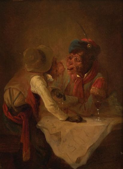 Attribué à Zacharie NOTERMAN (1820-1890)