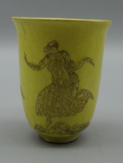 Jean Mayodon (1893-1967) Vase en céramique...