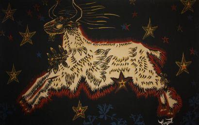 Jean Lurçat (1892-1966) Le bouc aux étoiles...