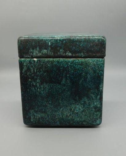 Hans HEDBERG (1917 - 2007) Boîte en céramique...