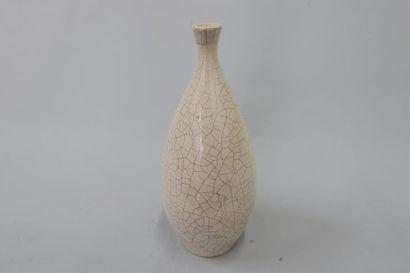 Boulogne s/Seine Vase piriforme en céramique...
