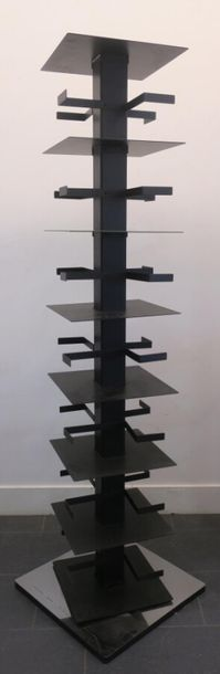 Bruno RAINANDI (1952-2011) Bibliothèque colonne...