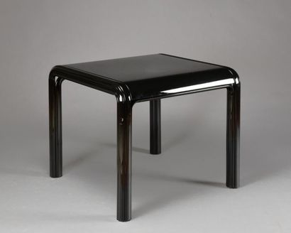 Gae AULENTI (1927-2012) Table en métal laqué...