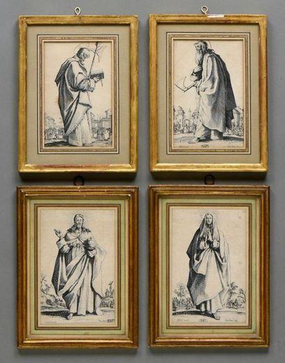 Jacques CALLOT (1592 - 1635). Le Sauveur...