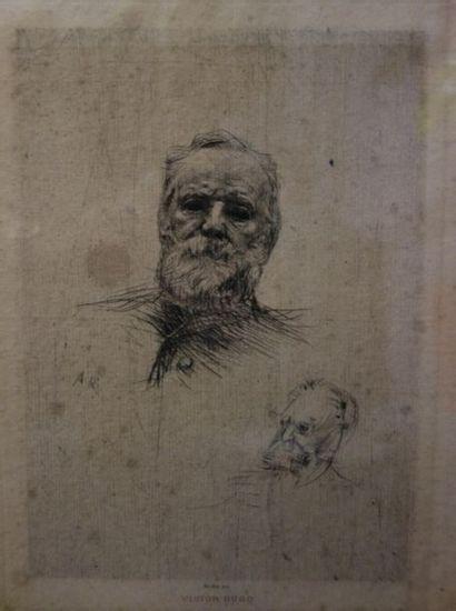 Gustave RODIN (1840 - 1917) Victor Hugo,...