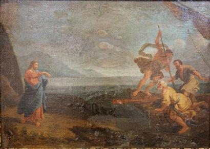 ECOLE FRANCAISE du XVIIIe siècle Le Christ...