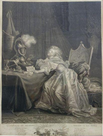 D'après Jean Frédéric SCHALL (1752-1825)...