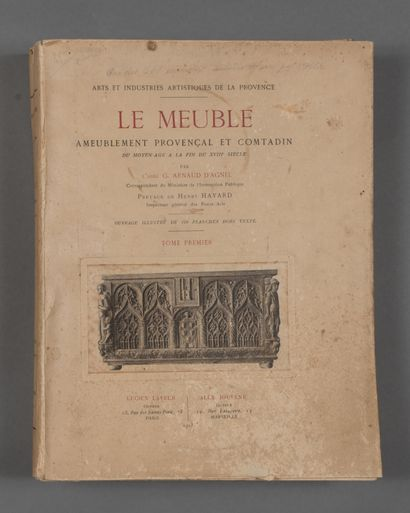ARNAUD D'AGNEL G. LE MEUBLE. Ameublement...