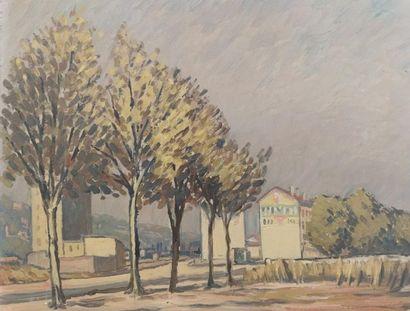 Attribué à Antonin PONCHON (1885-1965). Vue...