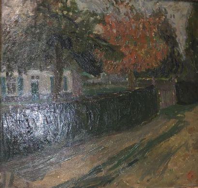 Léon de Smet (1881-1966) Le chemin et l'arbre...