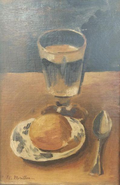 Étienne MORILLON (1884-1949). Nature morte...