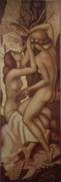 Fernand Majorel (1898-1965). Musiciennes...