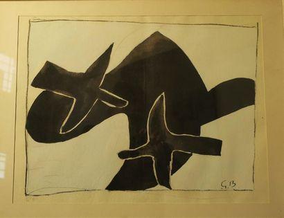 D'après Georges BRAQUE (1882 - 1963) Les...