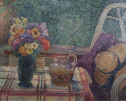 Jeanne Glachet (1887-1951). Composition au...