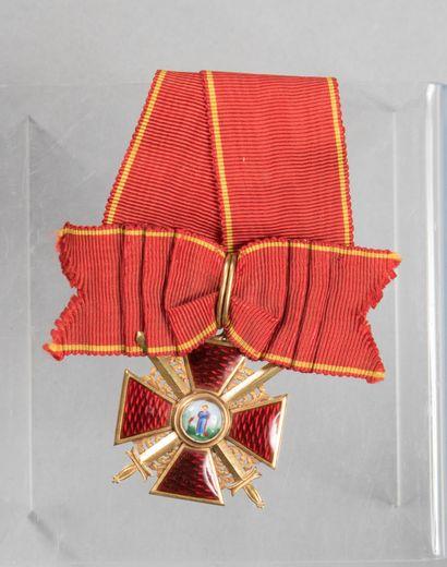 Ordre de Saint Anne de Russie, de 3° classe...