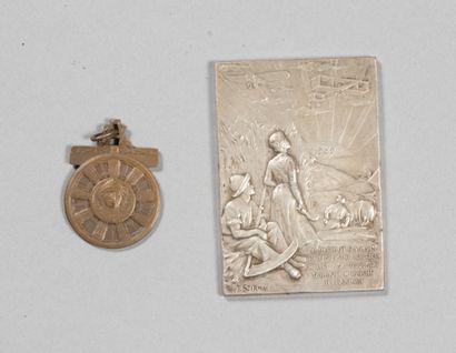Médaille du Souvenir de la Promotion de l'Aviation...