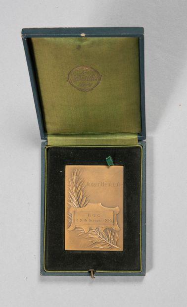 Médaille rectangulaire de l'Aéro club de...